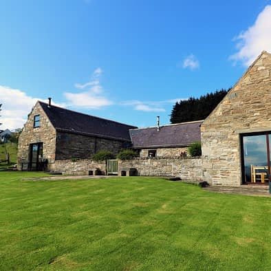 Converted from an old croft steading